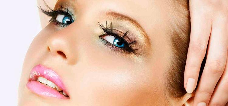 Правильная техника нанесения теней на глаза