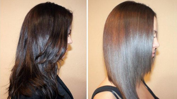 Матрикс: фото на волосах