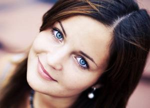Основные оттенки голубых глаз