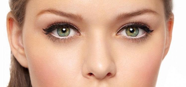 Рисуем стрелки увеличивающие глаза