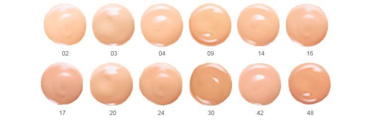 12 оттенков тонального крема Аффинитон от Мейбеллин