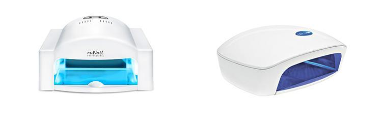 Разница и преимущества УФ-ламп: люминесцентные и светодиодные, какую лампу выбрать