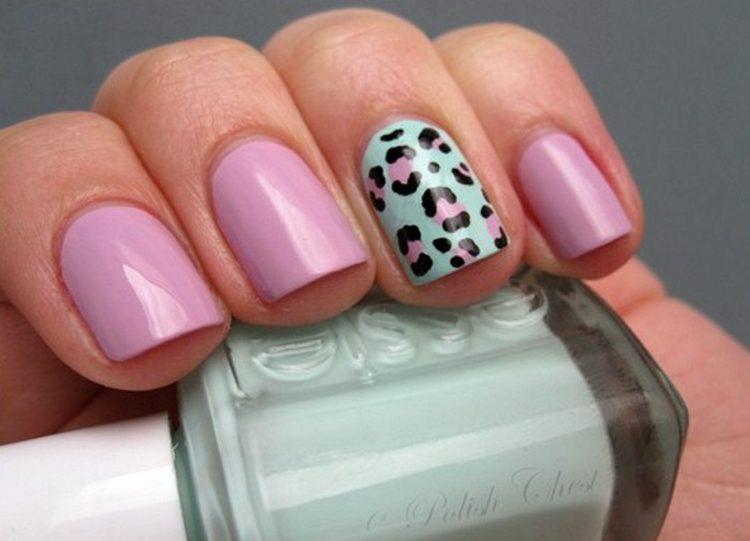Леопардовый палец