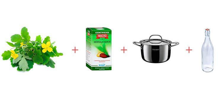Простой рецепт приготовления масла чистотела в домашних условиях