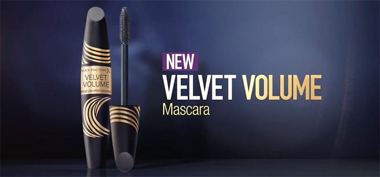 Новинка тушь Velvet Volume False Lash Effect