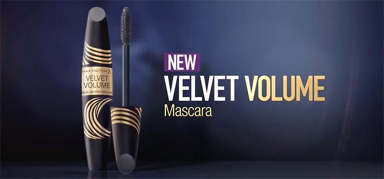 Новинка тушь Velvet Volume False Lash Effect