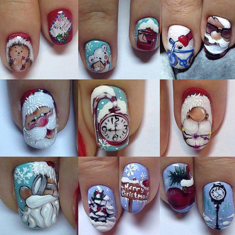 Новый Год и ногти